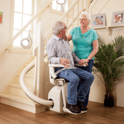 VANCOUVER ISLAND STAIRLIFTS curved stairs